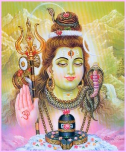 shiva with jyotirlinga