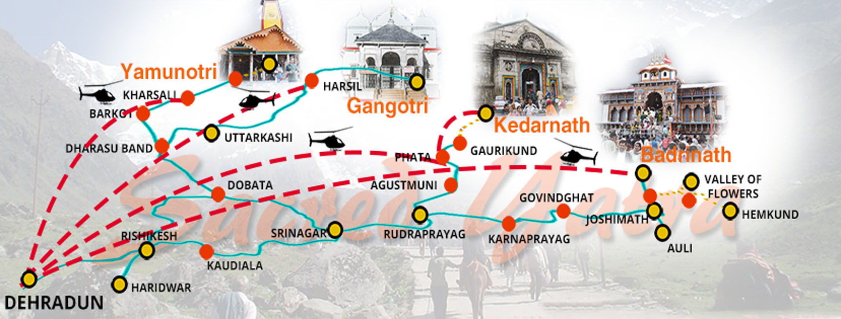 Char Dham Tour Package India