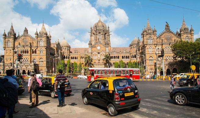 Victoria Terminal in Mumbai